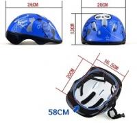 """Шлем детский защитный и защита для роликов """"Панда"""""""
