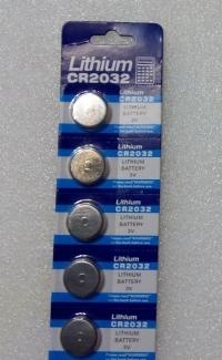 Батарейка Lithium CR 2032