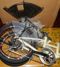 Защита от спиц велосипедная металлическая