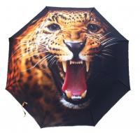 """Зонт 3в1 защита от дождя, ультрафиолета и снега """"Гепард"""""""