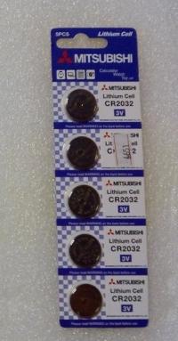 Батарейка MITSUBISHI CR 2032