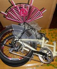 Защита от спиц велосипедная пластиковая