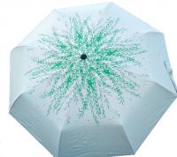 """Зонт автоматический с рисунком защита от дождя, ультрафиолета и снега """"Ива"""""""