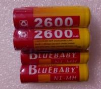 Аккумулятор АА BlueBaby 2600mah