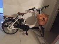 Корзина для велосипеда плетеная