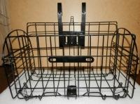 Корзина металлическая универсальная для электровелосипеда/электросамоката