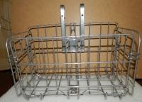 Корзина металлическая складная универсальная для электровелосипеда, электросамоката