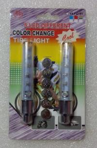 Светящиеся колпачки на ниппель колес. Комплект 2шт.