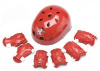 Детский защитный шлем и защита для локтей, коленок и запястий.Размер (S).